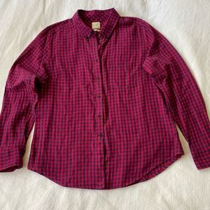 Gap boyfriend button down